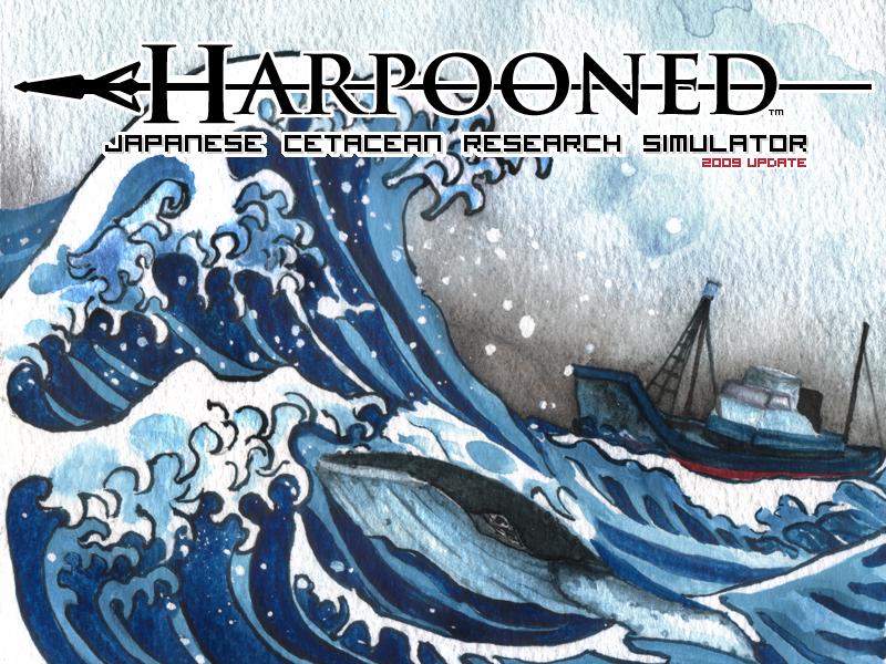 Harpooned Logo